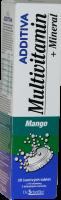 Additiva multivit.+minerál tbl.eff.20 mango