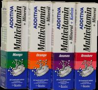 Additiva multivit.+ minerál mix příchutí