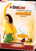 Dietline Vlákninová polévka s hovězí příchutí - 3 porce