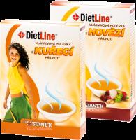 Dietline Vlákninová polévka MIX 1+1 balení