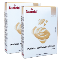 Guareta vanilkový pudink v prášku 2 balení