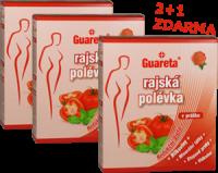 Rajské polévky Guareta v Akci 2+1 ZDARMA