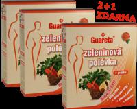 Zeleninové polévky Guareta v Akci 2+1 ZDARMA