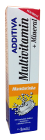 Additiva multivit.+minerál tbl.eff.20 mandarinka
