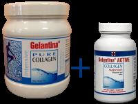 Gelantina Intensive rozpustný prášek+Gelantina Active tablety
