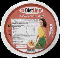 DietLine Hovězí maso s mrkví