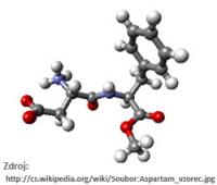 Aspartam-vzorec